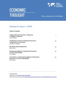 Economic Thought Vol 8 No 1