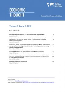 Economic Thought Vol 8 No 2